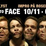 Face to Face Blot til Lyst - Improteater 8. december